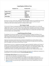 17 employee review form in pdf