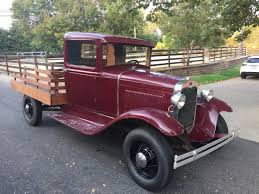 Ford Vintage Trucks - nice old truck 1931 ford stake bed