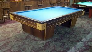 carom billiards table for sale used soren sogaard 5x10 billiard table for sale azbilliards com