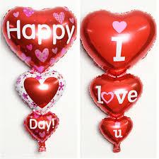 big valentines day 98cm big heart foil balloons s day happy birthday
