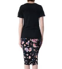 sacai luck sacai luck black t shirt with ruffle sleeves garmentory