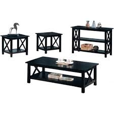 complete black coffee table sets ideas eva furniture