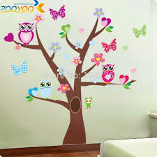 owl tree wall decal stickers diy waterproof 5 designs can do deals