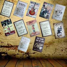 Metal Signs Home Decor Guitar Music Tin Sign Metal Painting Home Decor Artistic Pod