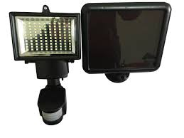 amazon com lightahead 100 led solar motion sensor flood light