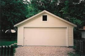 2 Car Detached Garage 2 Car Detached Garages Supreme Garages Inc