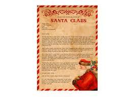 santa letter w activity pack u0026 magic snow santa u0027s post office