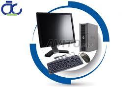 ordinateur complet de bureau pc bureau complet dell optiplex 745 lcd dell 17p à vendre à dans