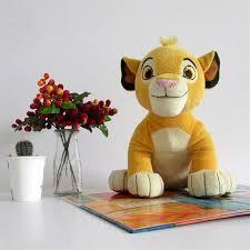 film kartun untuk anak bayi film kartun plush toys the lion king simba angka lembut stuffed doll