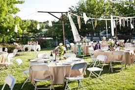 Ideas For Backyard Weddings Wedding Used Backyard Wedding Buffet Ideas Photos Concept