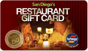 restaurants gift cards welcome san diego gift card processed by synergy world inc