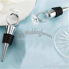 wine stopper wedding favors dhl unique ring wine bottle stopper wedding favors