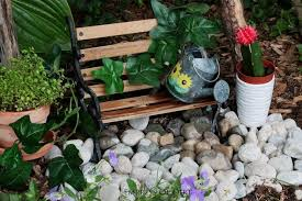 make a fairy garden water fountain that really works hometalk