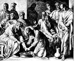 file jesus washes the disciples u0027 feet gif the work of god u0027s children