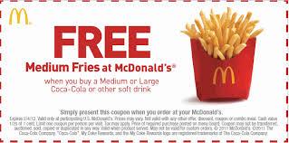 oct printable mcdonalds coupons mcdonald u0027s coupons