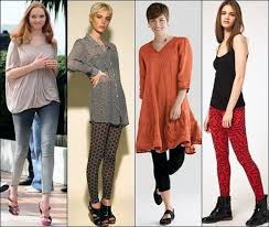 legging wear with dress casual inofashionstyle com