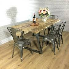 dining table industrial rustic calia style dining table vintage