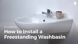 how to install a pedestal sink household diy projects sikana