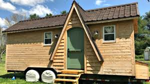 Whidbey Tiny House by Tiny House On Wheels Quaint Cozy Chic Interior Homey Feel Small