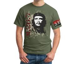 che guevara t shirt che guevara 26th of july movement armband sleeve t shirt