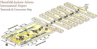 Bwi Airport Map Map Atlanta Airport My Blog