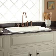 Palazzo Cast Iron DropIn Kitchen Sink Kitchen - Sink in kitchen
