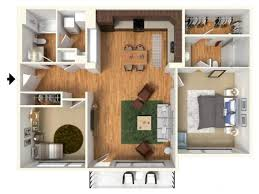 Two Bed Two Bath Apartment 2 Bed 2 Bath Apartment In Spokane Wa Highline At Kendall Yards