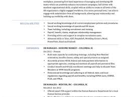 Taleo Resume Unusual Human Resource Manager Resume 16 Hr Manager Resume