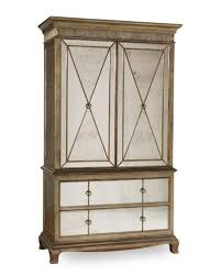 Mirror Armoire Wardrobe Bedroom Chests Dresser U0026 Tall Chests At Neiman Marcus Horchow