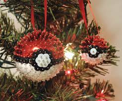 poké ball sequins ornaments 6 steps with pictures