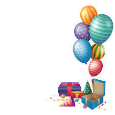 balloons gift happy birthday png balloons gift peoplepng peoplepng