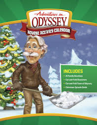 adventures in odyssey advent activity calendar countdown to