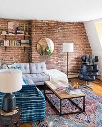 Daily Table Boston Cozy Boston Apartment With Exposed Bricks Daily Dream Decor