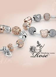 pandora bracelet with beads images The pandora rose collection yikes love this but i am overdosed jpg