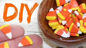 diy american doll candy corn youtube