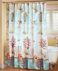 bathroom collection seahorse seastar reef shower curtain hooks
