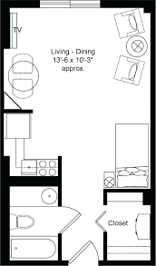 small apartment floor plans design modern studio plan laferida