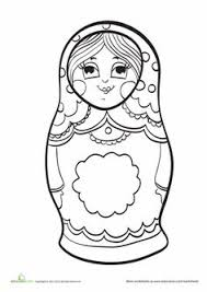 15 matryoshka coloring pages pdf download dachastudio etsy