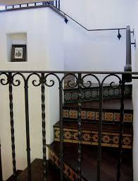 staircase design with santa barbara entry