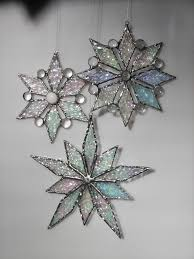 25 unique snowflake ornaments ideas on