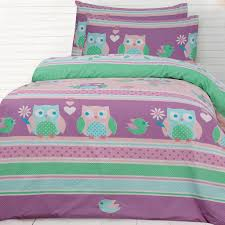 night owl bedding quilt cover set owl quilts double bed size