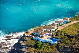 St Barts On Map by Cap Au Vent Luxury Retreats