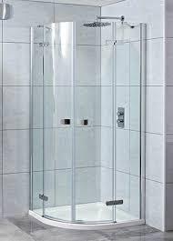 phoenix idyllic 8mm 2 door quadrant frameless shower enclosures