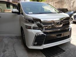toyota demo cars for sale 2016 toyota vellfire 2 5 a zg spec demo car cars for sale