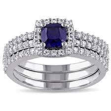 sapphire wedding ring sapphire wedding rings for less overstock