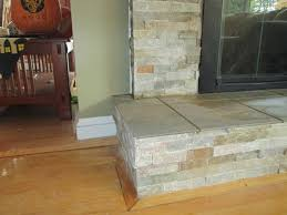 Natural Stone Laminate Flooring Fire Place Natural Stone Tile Installation In Lynfield Mass