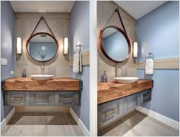 nautical mirror bathroom nautical bathroom mirrors bahtroom wooden floating shelf above