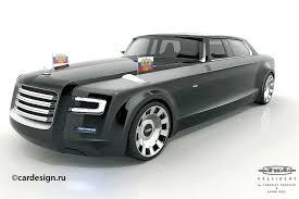 auto designen zil president design entwurf für putins neue staatskarosse