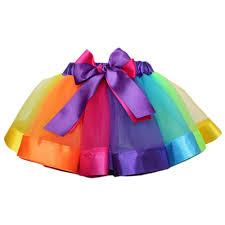 new beautiful rainbow skirt tutu skirt children dancing skirt