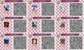 animal crossing new leaf qr codes hair qr codes animal crossing wiki guide ign